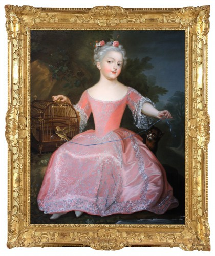 Presumed Portrait of Marie-Anne-Victoire de Bourbon, Pierre Gobert's Studio
