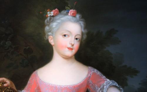 Paintings & Drawings  - Presumed Portrait of Marie-Anne-Victoire de Bourbon, Pierre Gobert's Studio