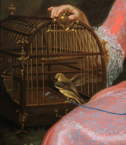 18th century - Presumed Portrait of Marie-Anne-Victoire de Bourbon, Pierre Gobert's Studio