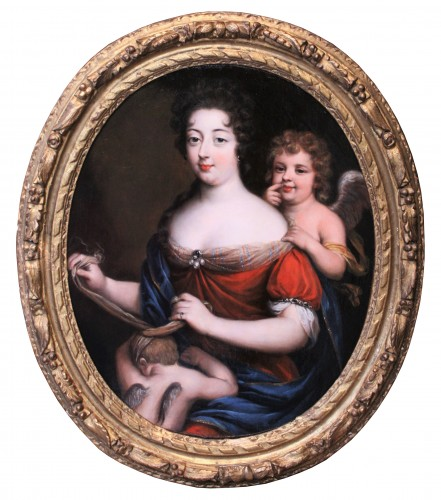 Portrait of Princess of Conti as Venus - Workshop of Pierre Mignard, 17th century
