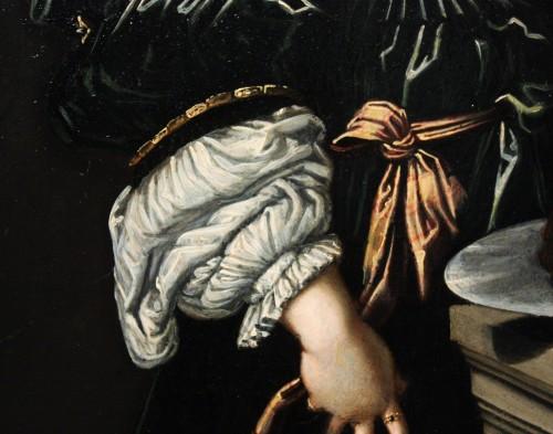 17th century - Early 17th c. Verona school oil on slate