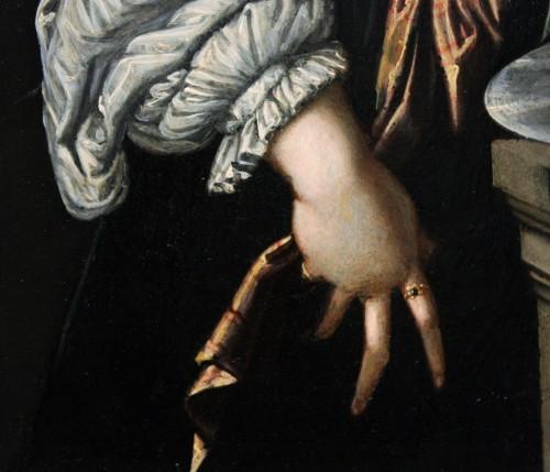 Early 17th c. Verona school oil on slate -