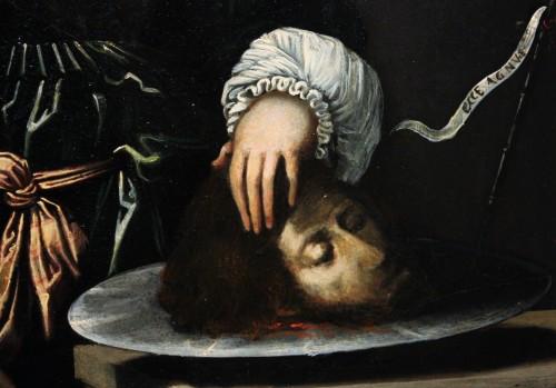 - Early 17th c. Verona school oil on slate