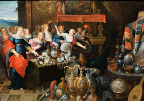 Daughters of Lycomedes, workshop of Frans Francken the Younger (1581-1642)