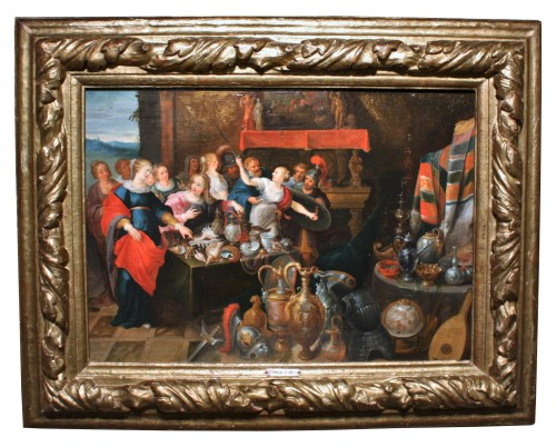 Daughters of Lycomedes, workshop of Frans Francken the Younger (1581-1642) - Paintings & Drawings Style