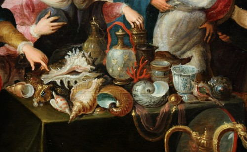 Paintings & Drawings  - Daughters of Lycomedes, workshop of Frans Francken the Younger (1581-1642)