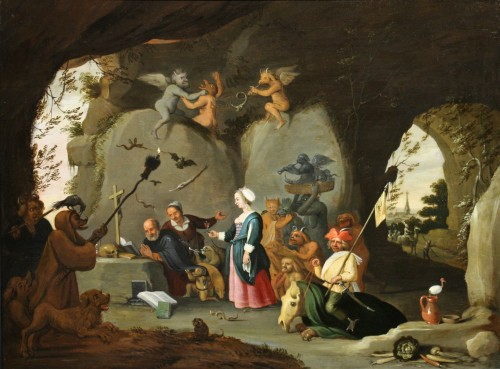Temptation Of St Anthony - Workshop Of David Teniers The Younger (1610-1690