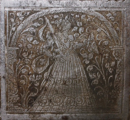 16th C. Nuremberg Etched Iron Casket - Renaissance