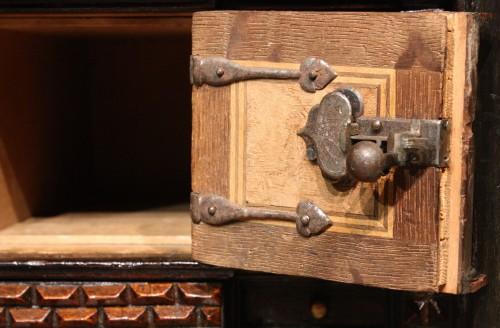 16th century - Late 16th C. Augsburg Inlaid Cabinet