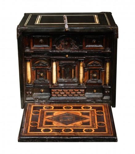 Late 16th C. Augsburg Inlaid Cabinet - Renaissance