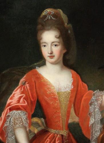 Portrait Of Francoise-Marie De Bourbon, Workshop Of Pierre Gobert, Late 17t -
