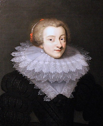 Portrait Of Marie De Rohan, Circa 1620 - Circle Of Daniel Dumonstier