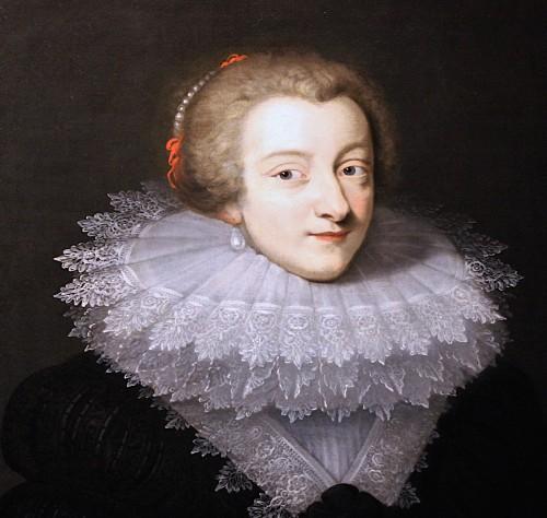 Portrait Of Marie De Rohan, Circa 1620 - Circle Of Daniel Dumonstier -