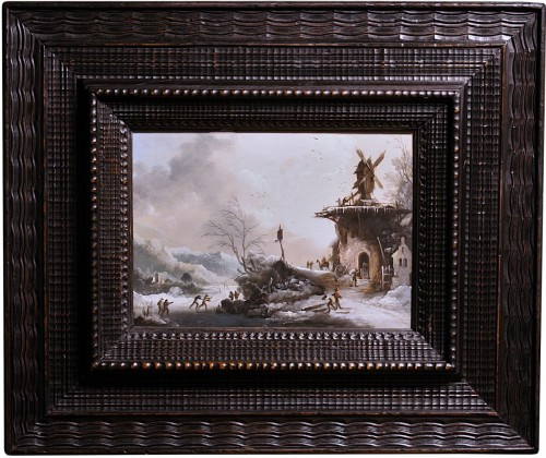 Winter Landscape with The Mill, Circle of Klaes Molenaer, 17th Century