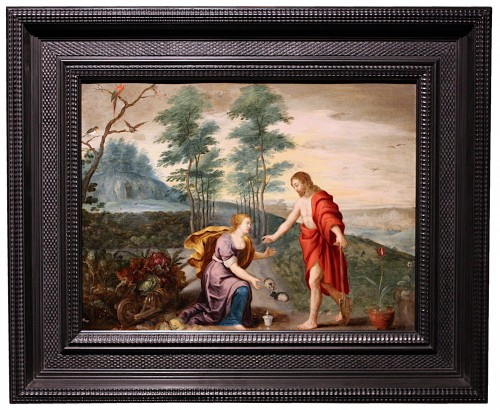 Noli mi tangere, mid-17th c., circle Jan Brueghel et Peter Paul Rubens - Louis XIII