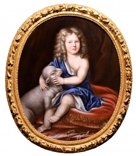 Portrait of Duc d'Anjou as a child, workshop of Pierre Mignard (1612-1695)
