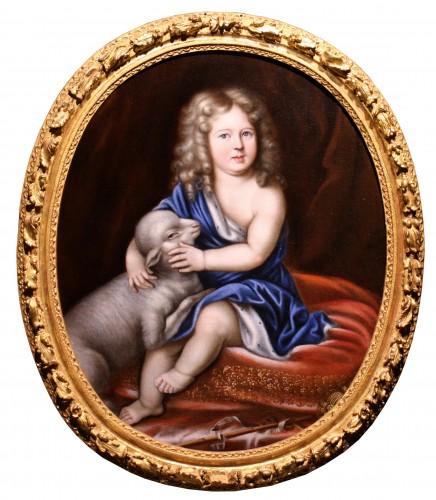 Portrait of Duc d'Anjou as a child, workshop of Pierre Mignard (1612-1695)