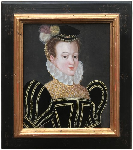 Elisabeth of Austria, circle of  François Clouet, 16th Century