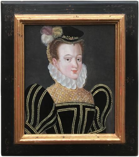 Elisabeth of Austria, circle of  François Clouet, 16th Century