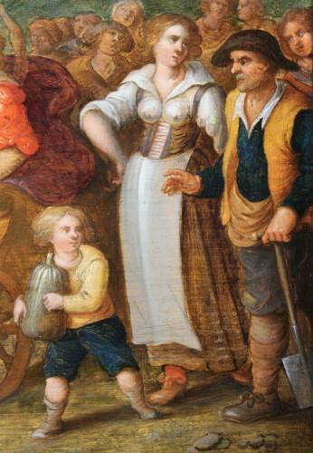 Paintings & Drawings  - Allegory of summer, attributed de Louis de Caullery (1580-1622)