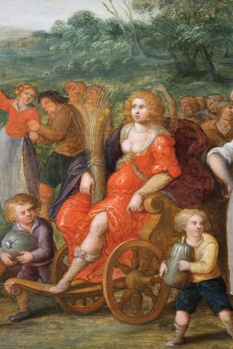 17th century - Allegory of summer, attributed de Louis de Caullery (1580-1622)