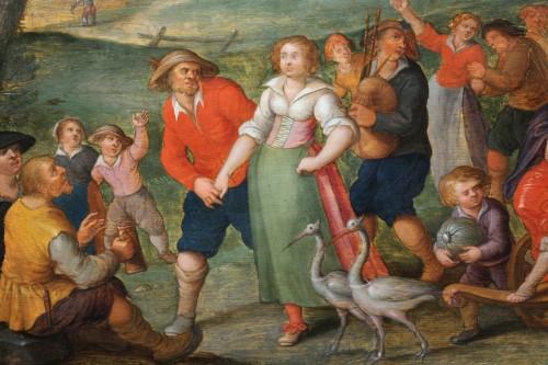 Allegory of summer, attributed de Louis de Caullery (1580-1622) - Louis XIII
