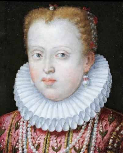 Portrait of Marguerite de Gonzague, attributed to Lavinia Fontana, c. 1578 - Paintings & Drawings Style Renaissance