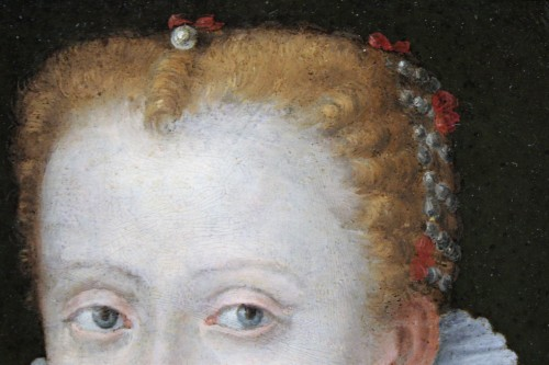 Paintings & Drawings  - Portrait of Marguerite de Gonzague, attributed to Lavinia Fontana, c. 1578