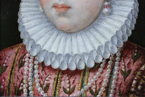Portrait of Marguerite de Gonzague, attributed to Lavinia Fontana, c. 1578 -