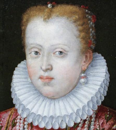<= 16th century - Portrait of Marguerite de Gonzague, attributed to Lavinia Fontana, c. 1578