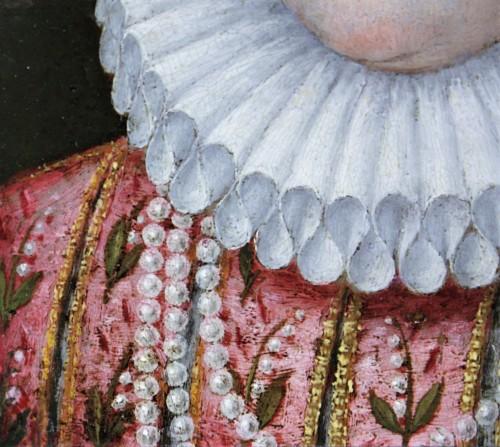 Renaissance - Portrait of Marguerite de Gonzague, attributed to Lavinia Fontana, c. 1578