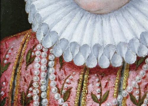 Antiquités - Portrait of Marguerite de Gonzague, attributed to Lavinia Fontana, c. 1578