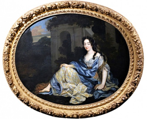 Portrait Of Louise De Keroualle, Attributed To Henri Gascard, Circa 1670