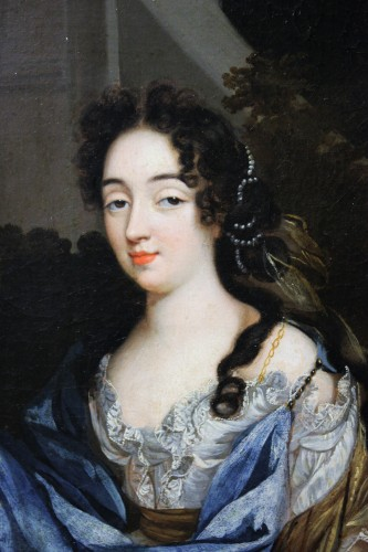 Portrait Of Louise De Keroualle, Attributed To Henri Gascard, Circa 1670 - Paintings & Drawings Style Louis XIV