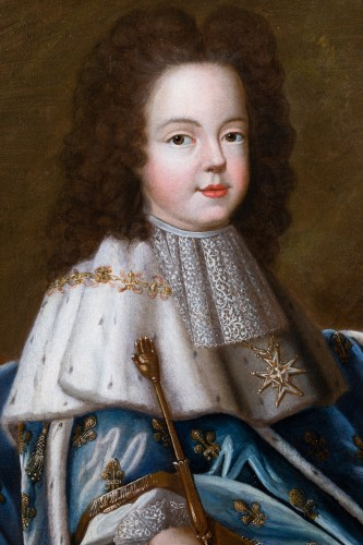 Portrait of Louis XV as a child, workshop of Pierre Gobert  c. 1716 -