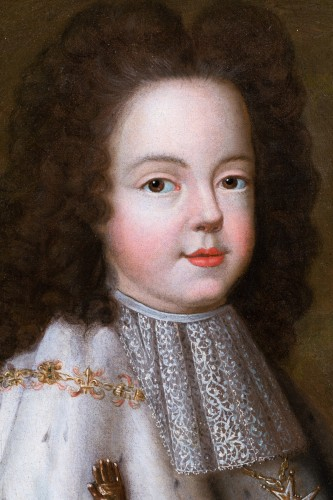 18th century - Portrait of Louis XV as a child, workshop of Pierre Gobert  c. 1716