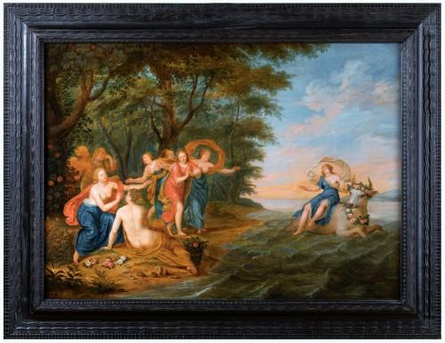 Rape of Europa, cercle of Jan Van Kessel (Antwerp, 1626-1679)