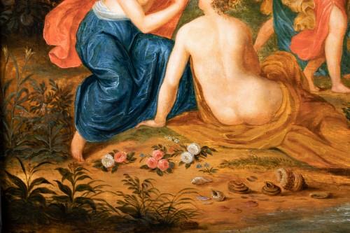 Paintings & Drawings  - Rape of Europa, cercle of Jan Van Kessel (Antwerp, 1626-1679)