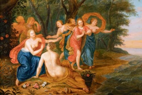 Rape of Europa, cercle of Jan Van Kessel (Antwerp, 1626-1679) -