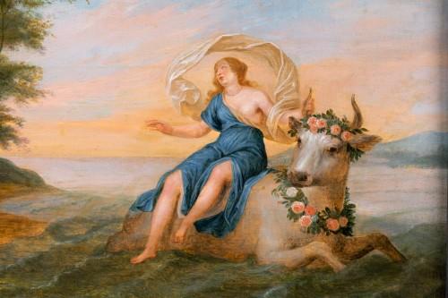17th century - Rape of Europa, cercle of Jan Van Kessel (Antwerp, 1626-1679)