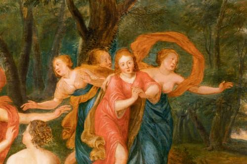 Rape of Europa, cercle of Jan Van Kessel (Antwerp, 1626-1679) - Louis XIII