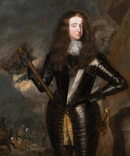 17th century - William III, Prince of Orange, workshop C. Netscher (The Hague, 1668-1723)