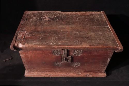 Furniture  - Gothic Cassone Chest, Veneto 15th Century