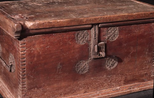 Gothic Cassone Chest, Veneto 15th Century -