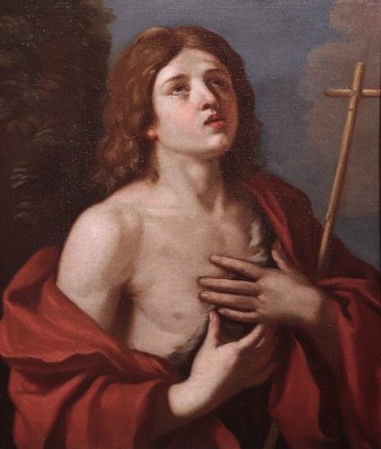 Saint John The Baptist - Cesare Gennari (1637-1688)  - Paintings & Drawings Style Louis XIV