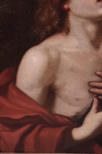 Paintings & Drawings  - Saint John The Baptist - Cesare Gennari (1637-1688)
