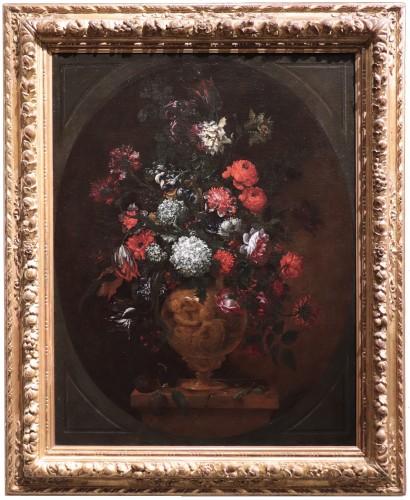 Bartolomeo Bimbi (florence1648-1729) - Vase Of Flowers