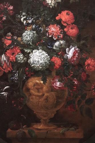 Bartolomeo Bimbi (florence1648-1729) - Vase Of Flowers -