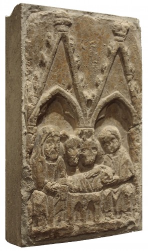 "Stone bas-relief ""nativity"" 14th century"