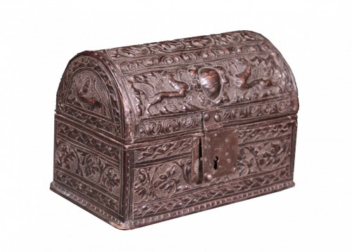 Leather Box, Italy 16th Century